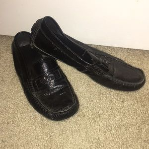 Cole Haan loafers Sadie shearling driver loafers